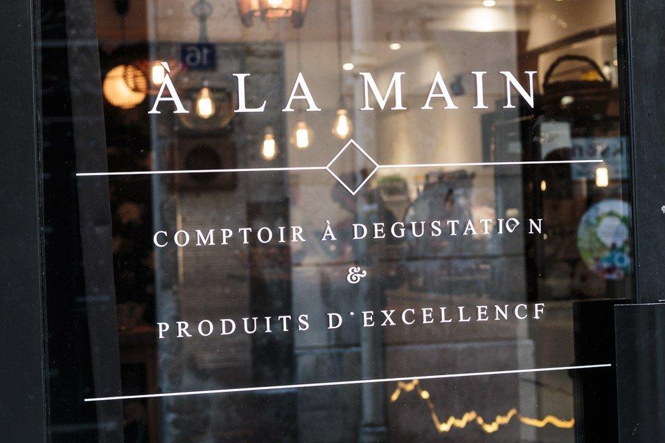 A la main épicerie et comptoir de dégustation corse à paris