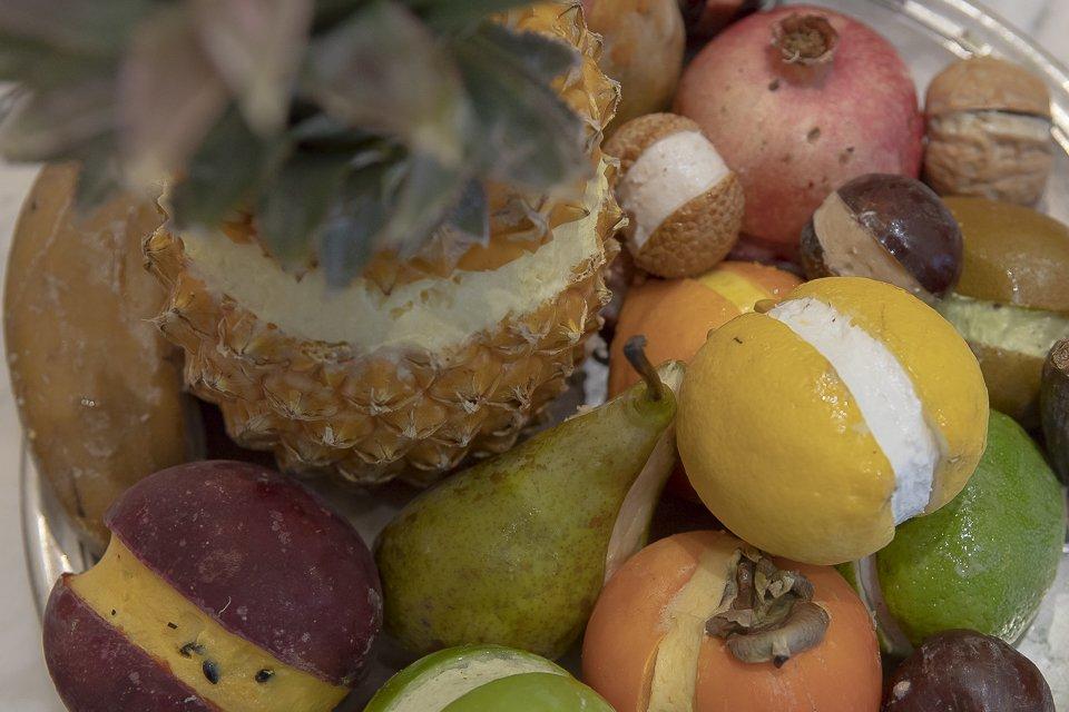 Fruttini corbeille de fruits givrés