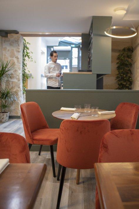 Affinité restaurant rue de Bièvre