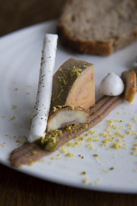 Restaurant gastronomique Automne étoilé Michelin