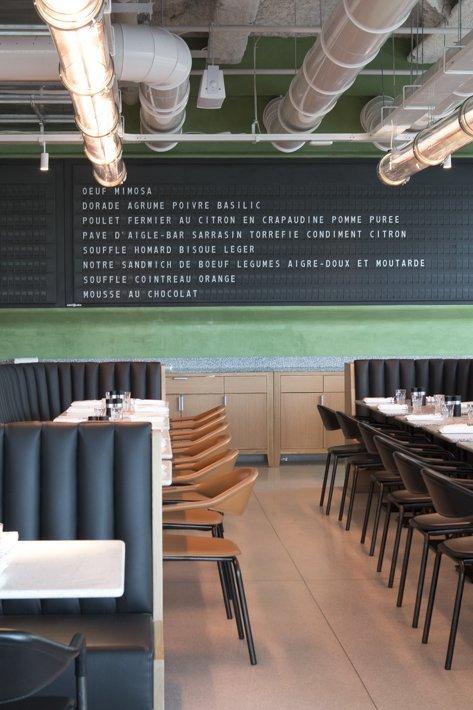 Champeaux. Brasserie Alain Ducasse