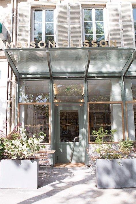 Maison plisson lucky miam for Restaurant miroir