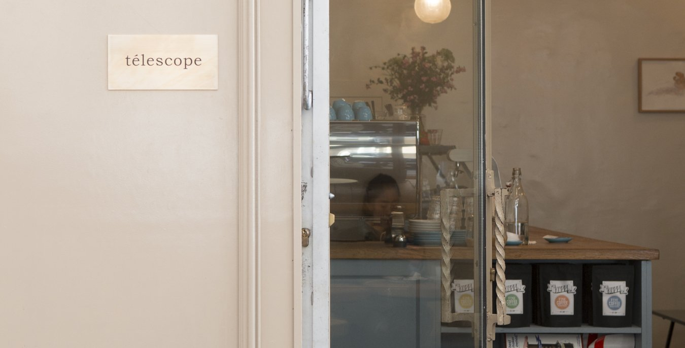 telescope coffee shop