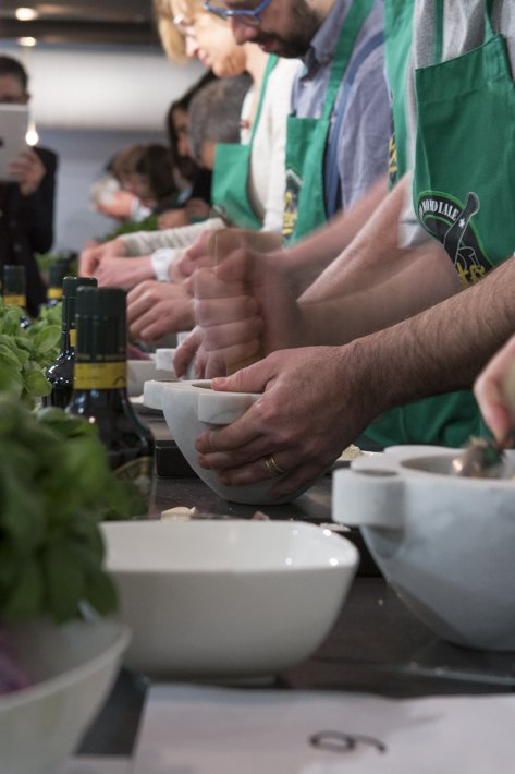 Concours de Pesto au mortier