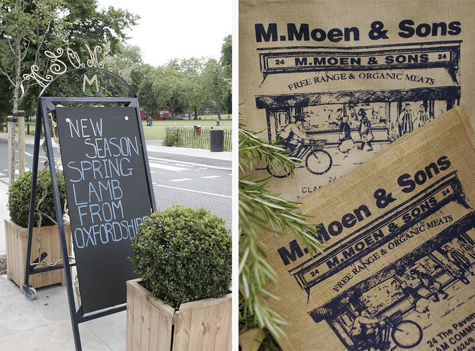 Moen & Sons organic meats london