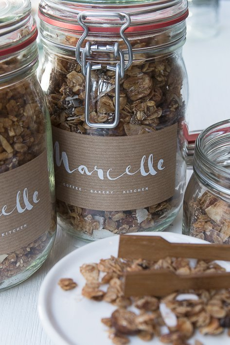 bocal de granola homemade