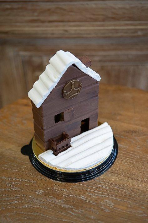 maison en chocolat