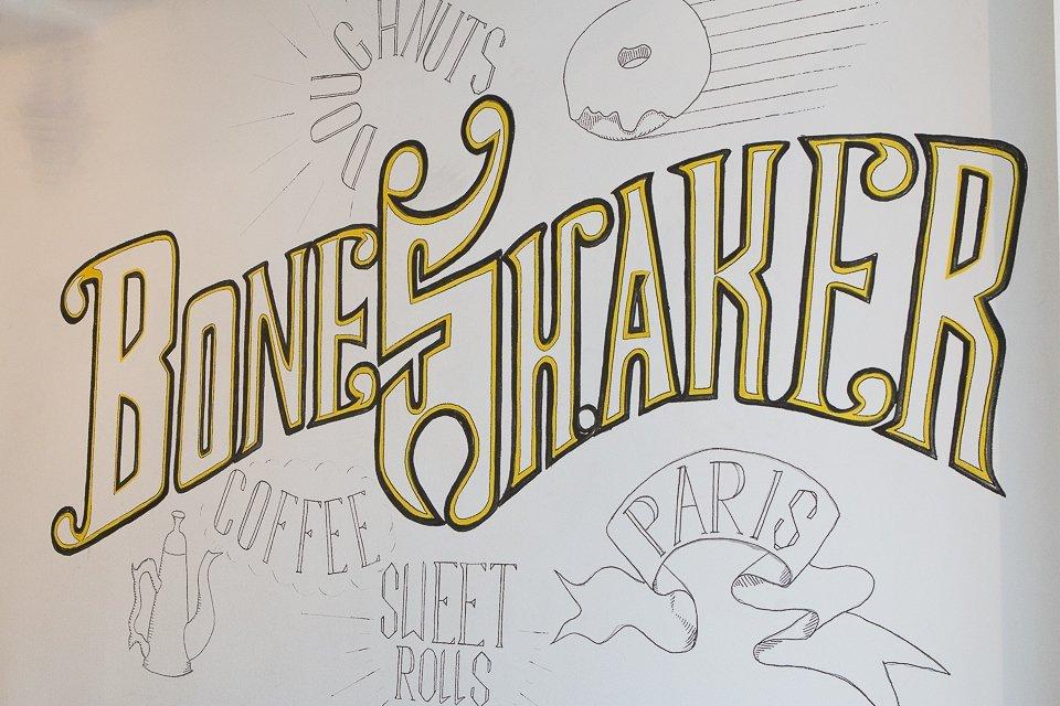boneshaker tag donuts à Paris