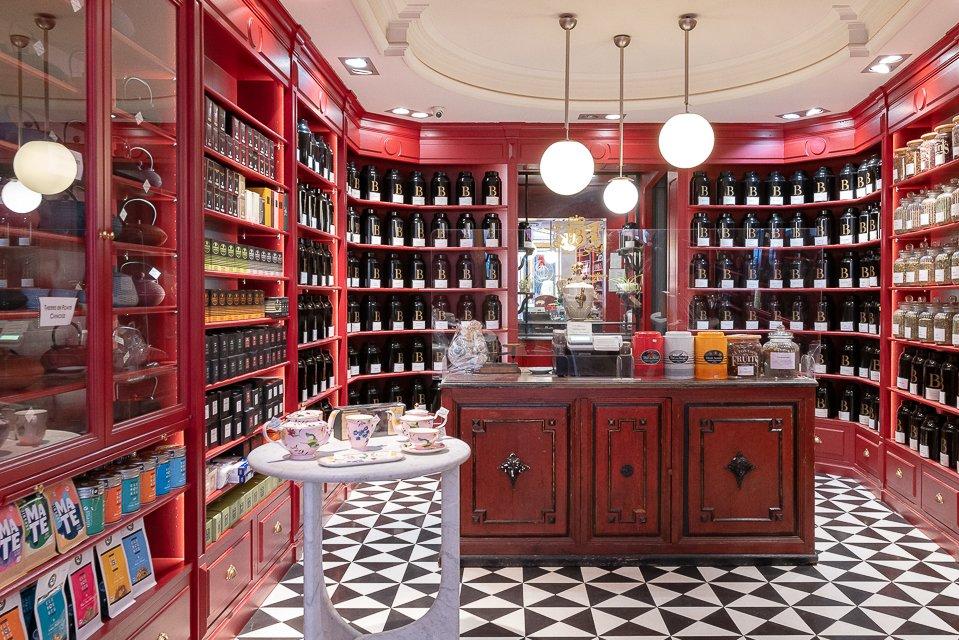 boutique de thé bacquie
