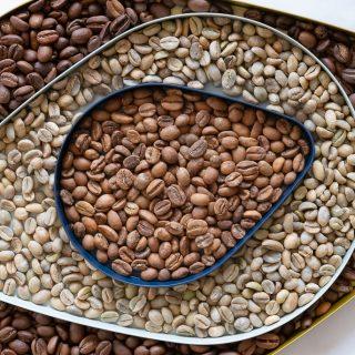 grains de cafés régus