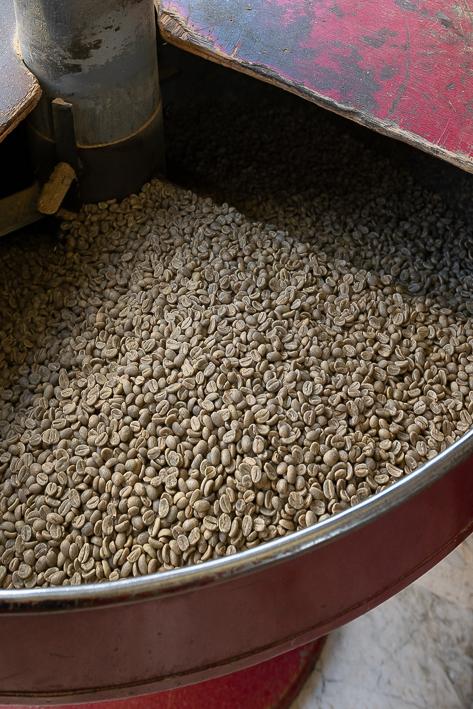 torréfaction de cafe