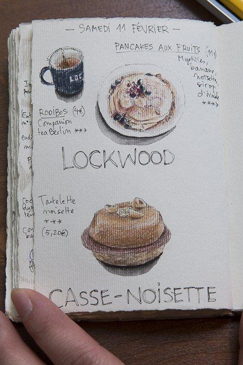 dessin de la pâtisserie casse-noisette