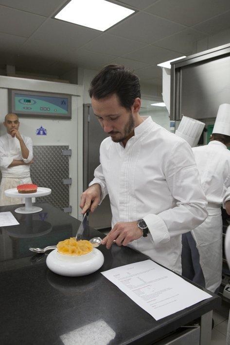 Cédric Grolet concours interne le Meurice