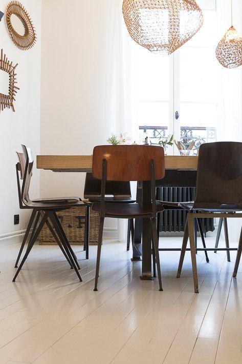 salle préférée grande table