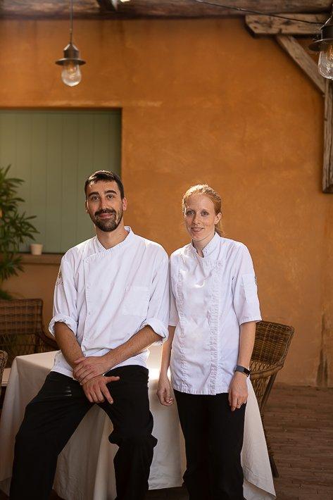 couple de cuisiniers