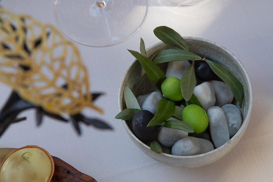 olives et cailloux