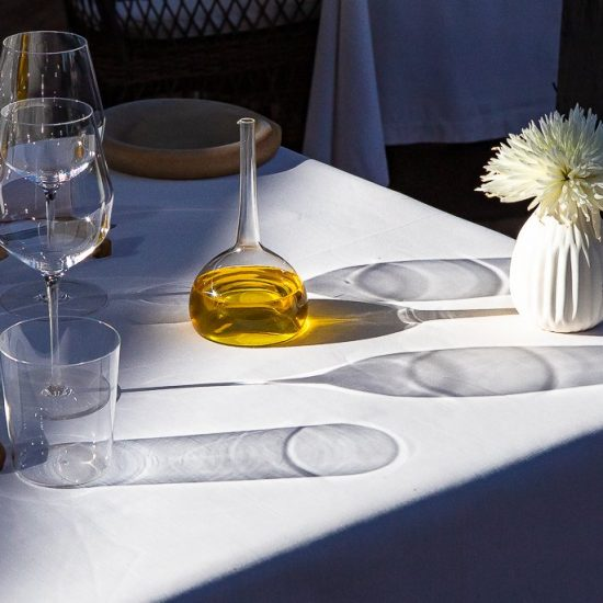table restaurant jardin de Berne