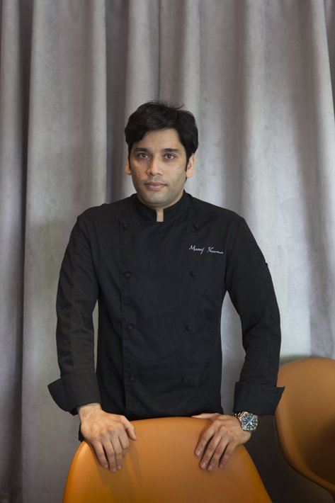 Manoj Sharma chef du restaurant Shirvan