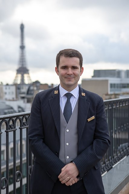 Maël Talibart concierge clefs d'or péninsula