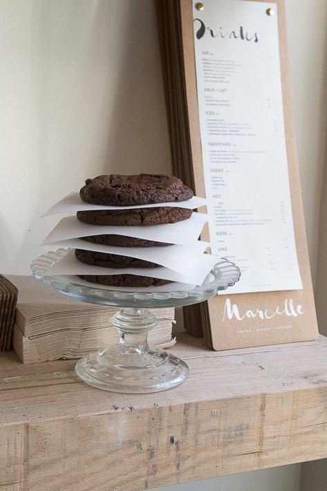 pile de cookies chocolat
