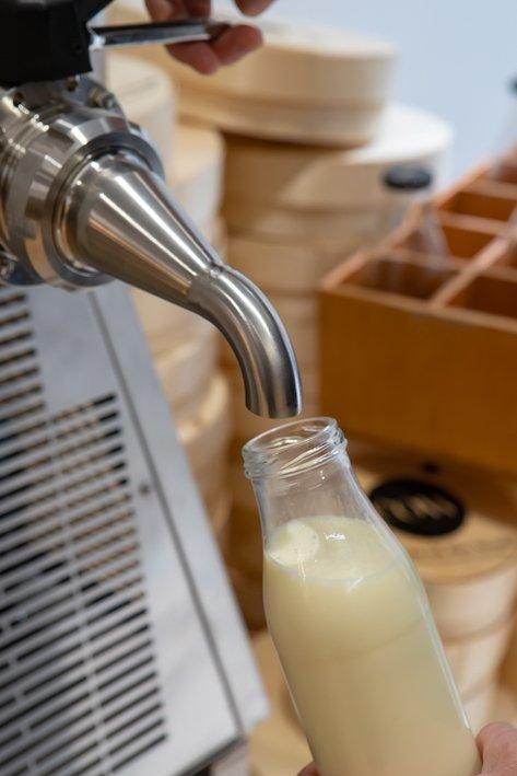 lait frais chez cow