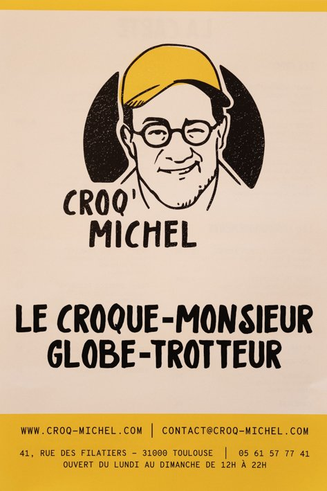 menu croq michel