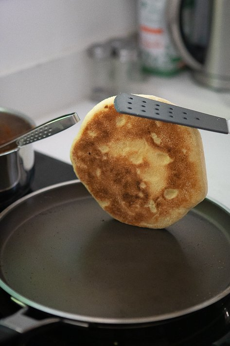 cuisson pain à la poêle