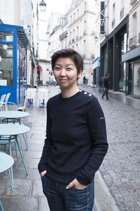 Eliane cheung, à la table d'une famille chinoise