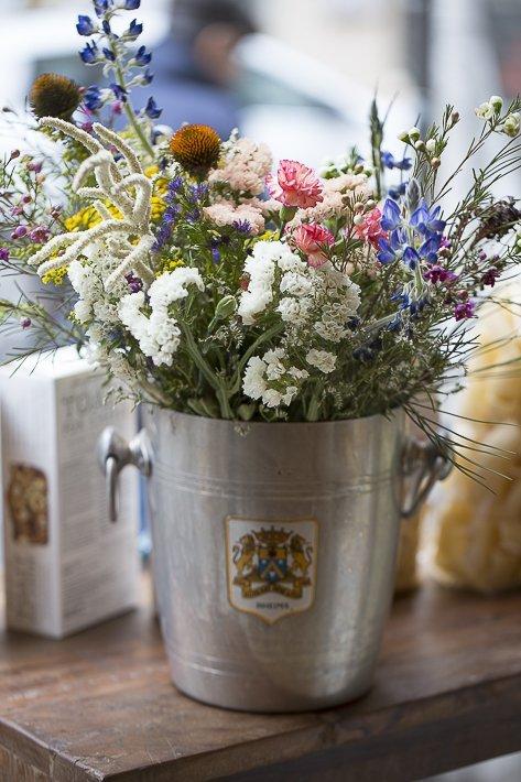 fleurs du restaurant Le Bel Ordinaire