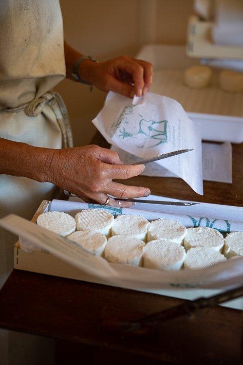 vente de fromages a la ferme