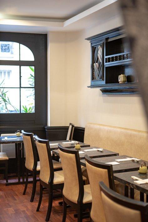 salle du restaurant kifune