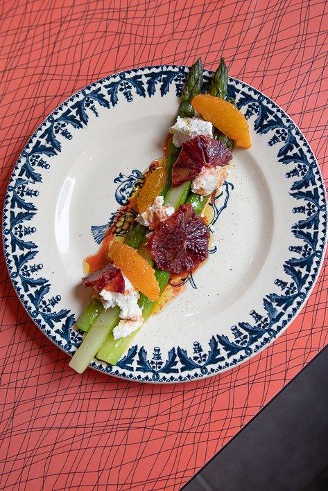 légumes restaurant la Vierge