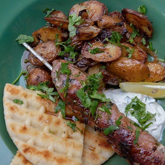 assiette cuisine grecque Paris