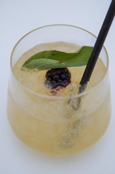 cocktail gin et sauge