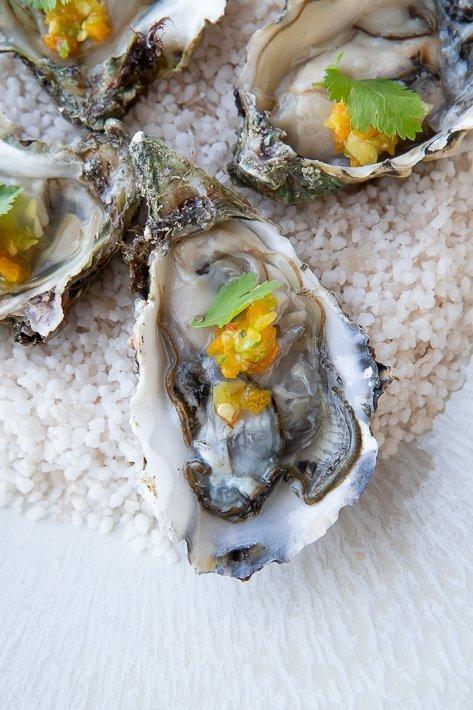 huîtres Restaurant les bords de mer