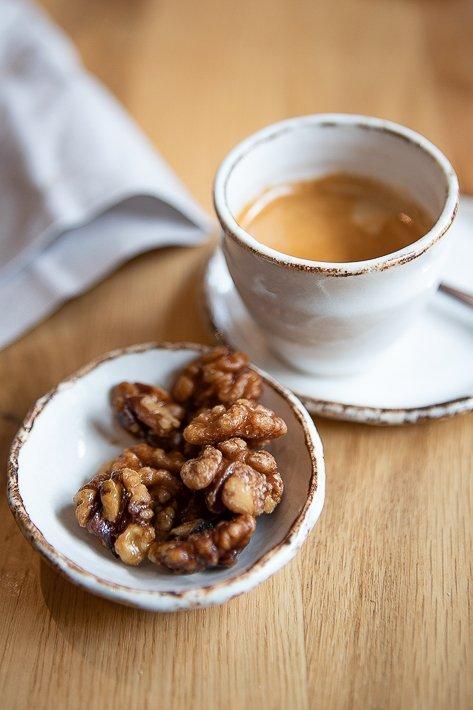 café et noix