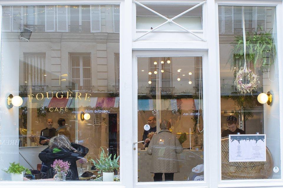 Fougère Café Paris 6ème coffee shop