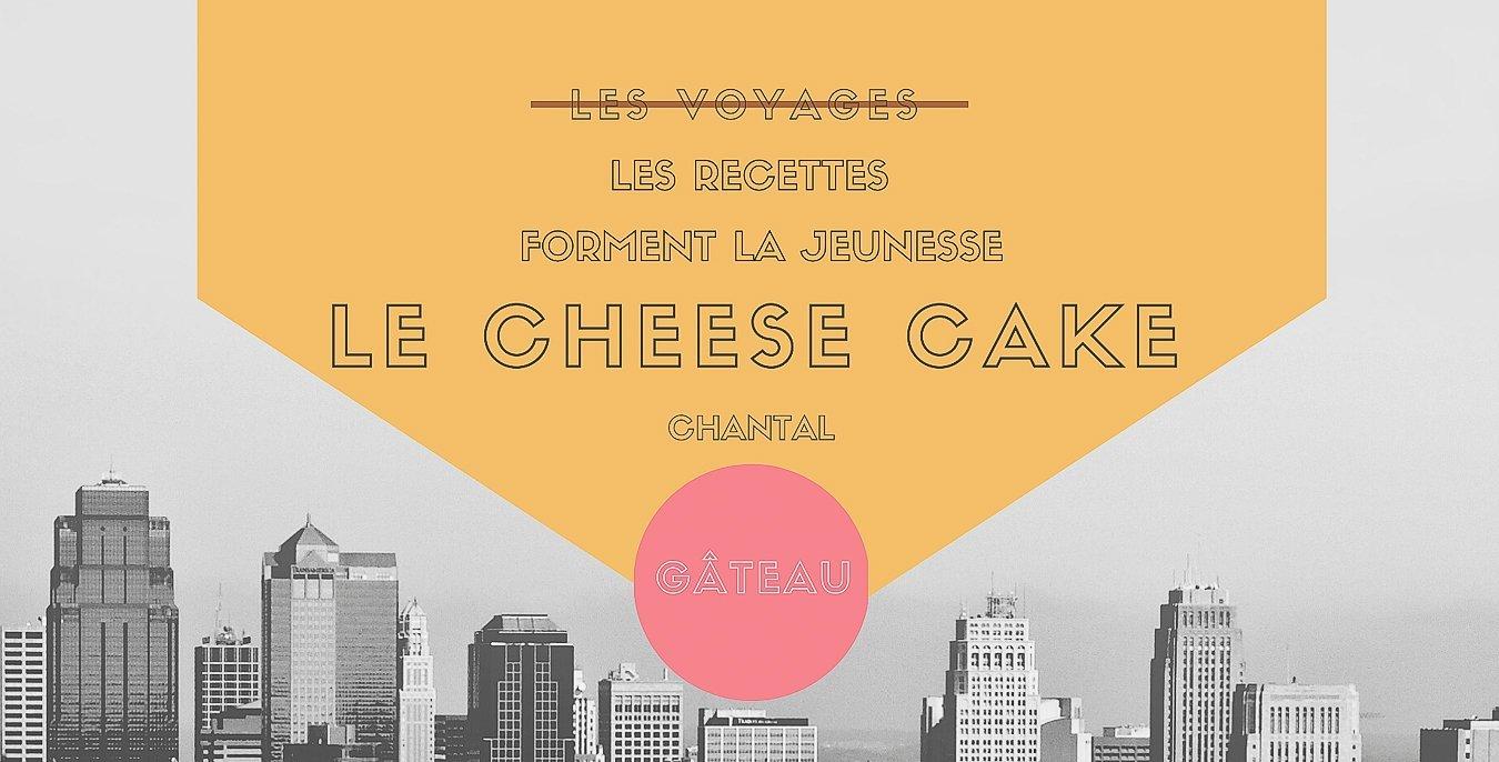 recette de cheese cake