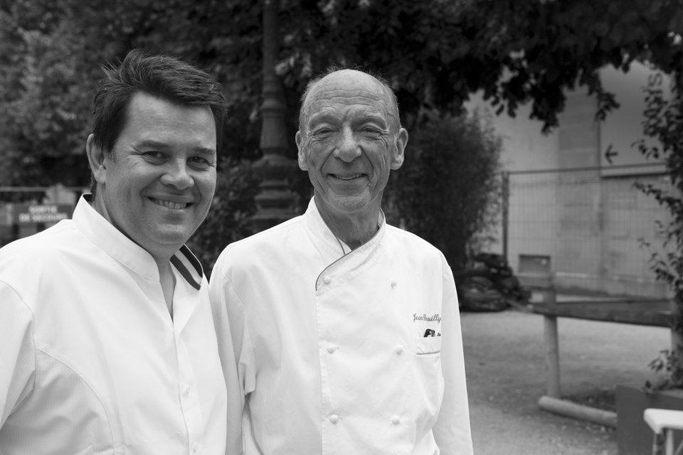 Eric Trochon et Jean Brouilly