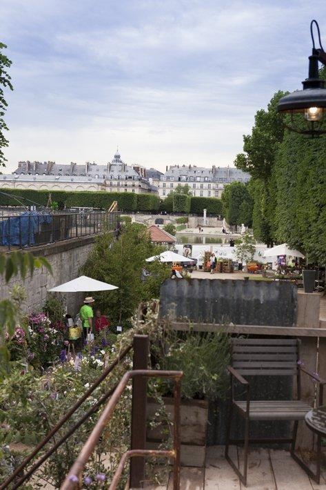 Sevilla aux tuileries, jardins jardin