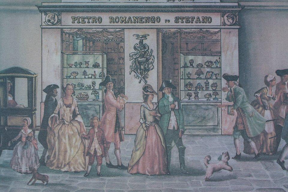 Pietro Romanengo à Gênes, Genova