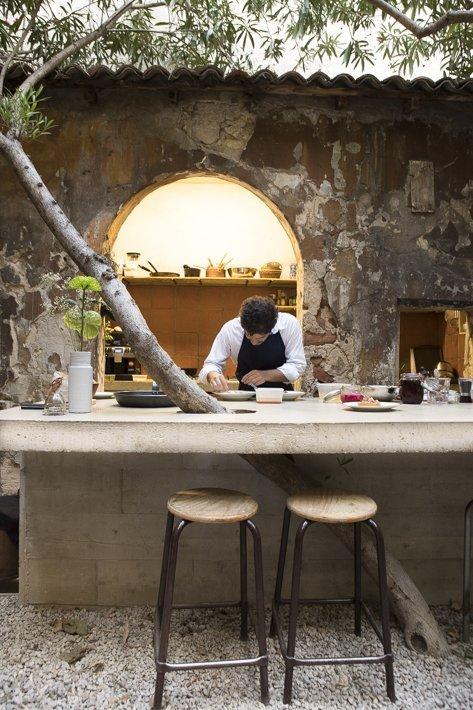 Matthieu Roche restaurant ourla chez Jogging Marseille