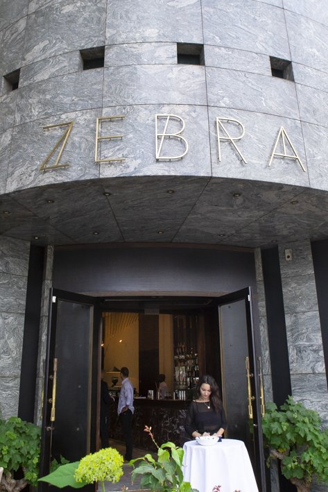 Zebra restaurant Paris 16