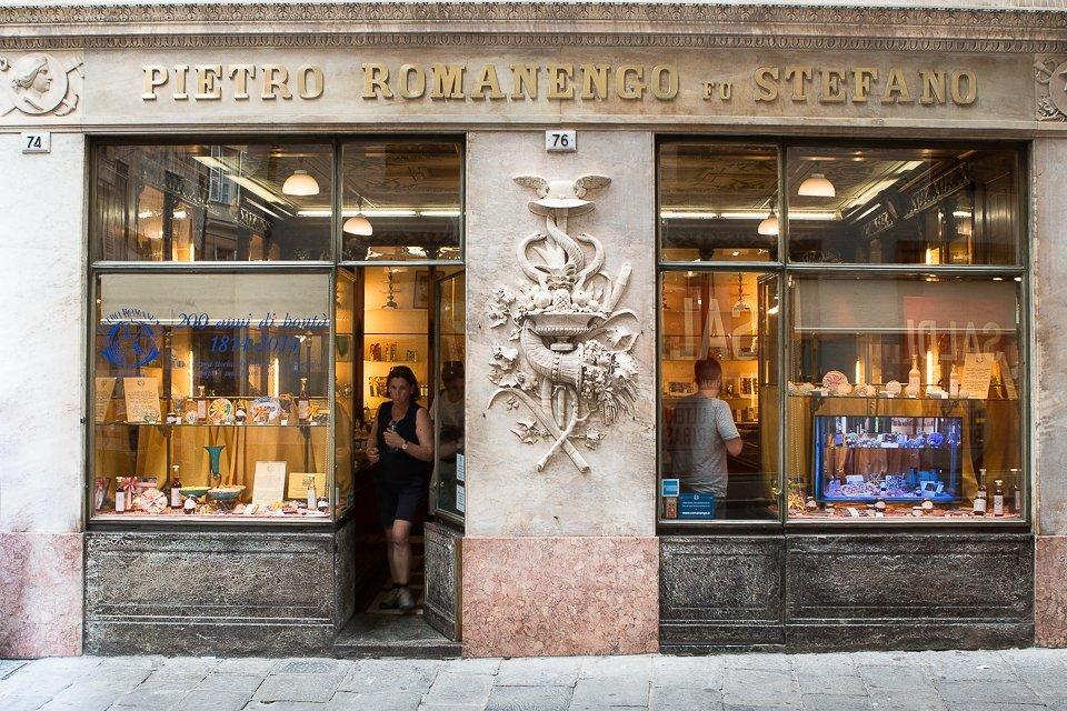 Pietro Romanesco confiserie Genova