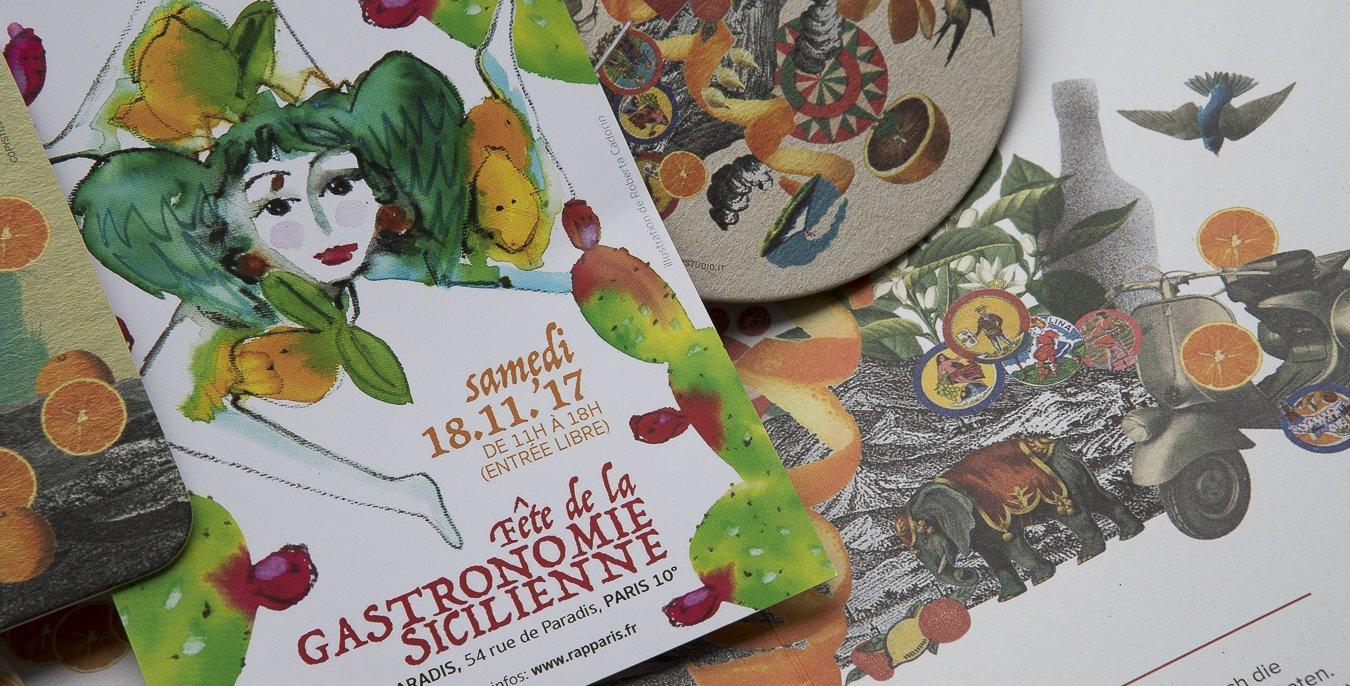 gastronomie sicilienne Epicerie Rap Alessandra Pierini