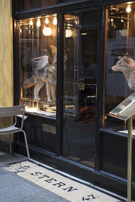 Petit déjeuner au Caffè Stern, les frères Alajmo, Gianni Frasi