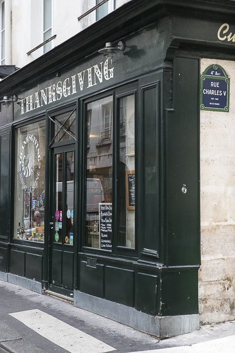 Thanksgiving Day in Paris 2017