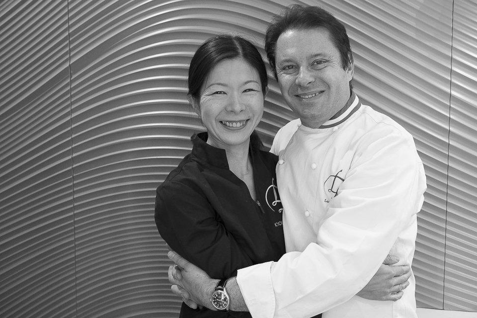 Laurent Duchêne, pâtisserie de Kyoko