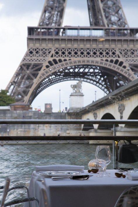 Ducasse sur Seine Croisière Paris 16ème
