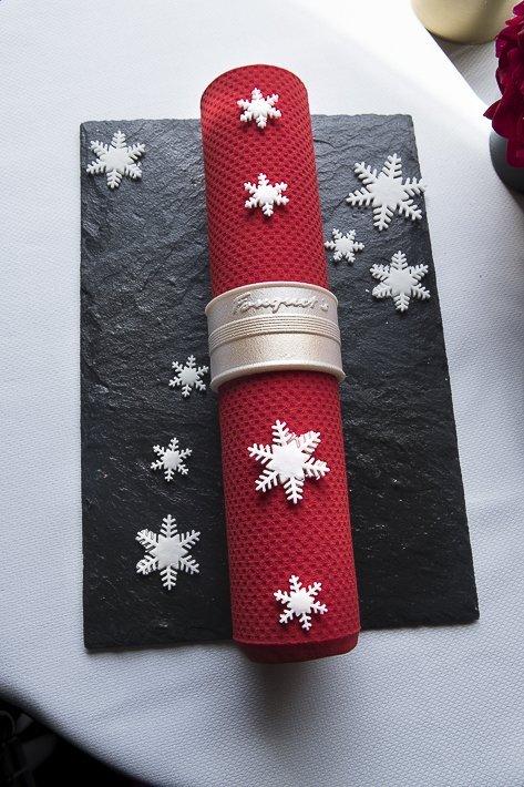 Bûche de Noël Pierre Gagnaire pour le Fouquet's